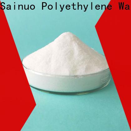 Sainuo Wholesale polyethylene wax powder Supply for wax emulsions